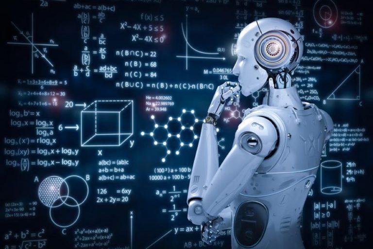 AI automation background