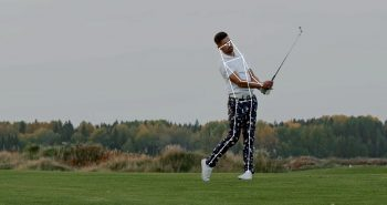 Sports player pose estimation golfer