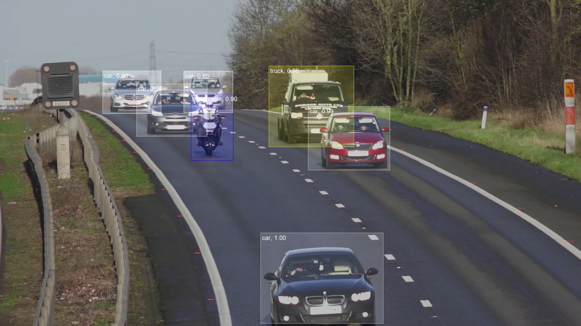 Real world deep learning application with video cameras