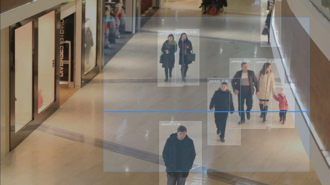 People counting Use Case with Object Detection