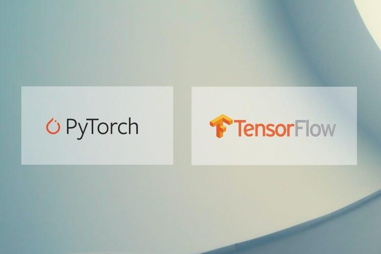 pytorch vs tensorflow logo