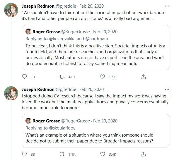 Yolo Redmon Tweet