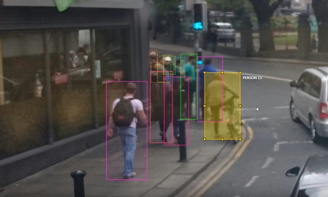 People image annotation example