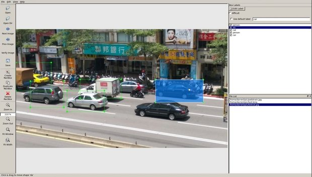 Image Labeling Tool for Computer Vision and Machine Learning