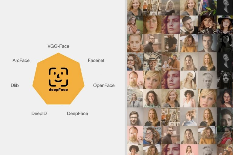deepface library face recognition and deep learning facial analysis