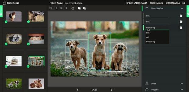 Free Image Annotation Tool MakeSense