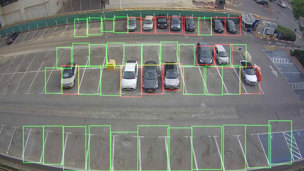 parking lot detection for computer vision in logistics