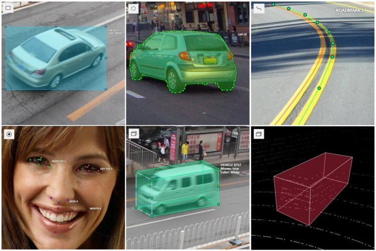 CVAT shapes overview